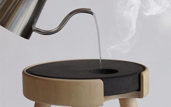 Warm Stool Ceramic Trunk