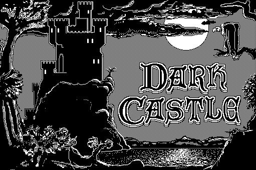 Dark Castle sur Macintosh SE30 - Retro Gaming Macintosh sur Design Index