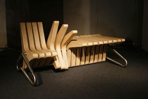 Coffee Bench by BEYOND Standards - Design Milk