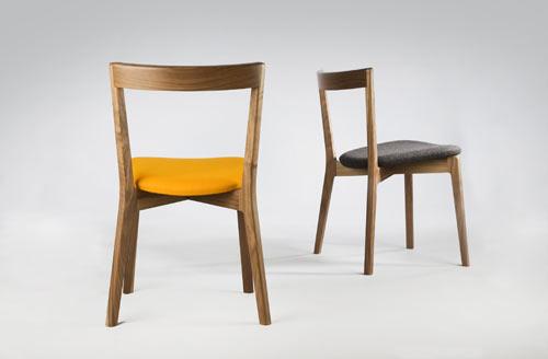 Cross Side Chair by David Irwin