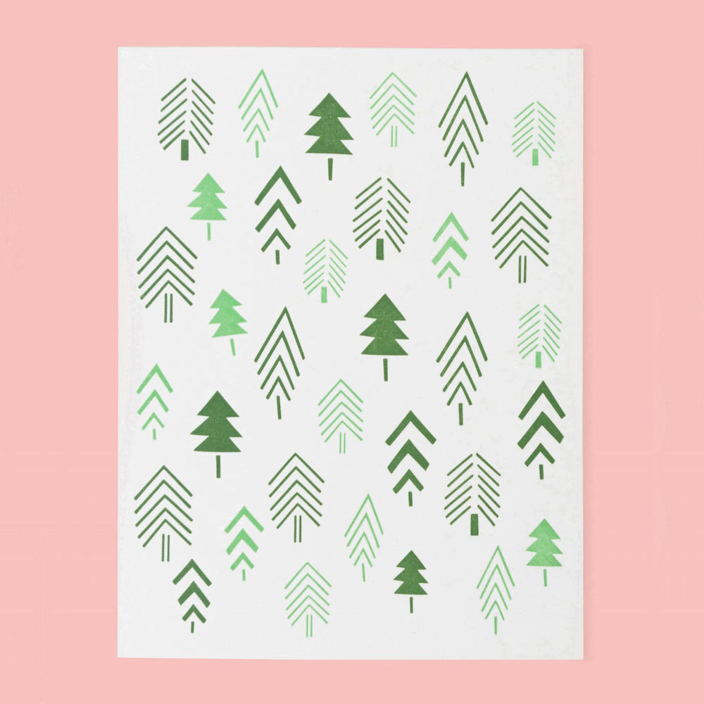 12 Modern Holiday Cards Design Milk