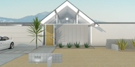A Brand New Eichler Home  Now It s Possible    Design Milk desert eichler modern home designs rendering