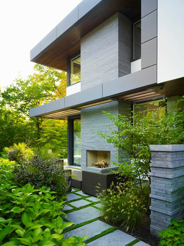 12 Amazing Modern Outdoor Fireplaces - Design Milk on Amazing Outdoor Fireplaces  id=16113