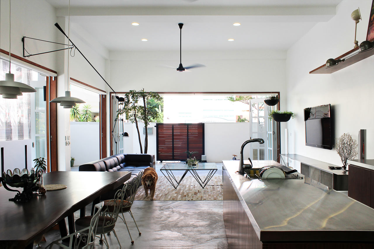 A 60-Year Old Terrace House Gets a Renovation - Design Milk on Small:xmqi70Klvwi= Kitchen Renovation Ideas  id=27194
