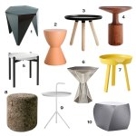 Roundup 10 Modern Side Tables