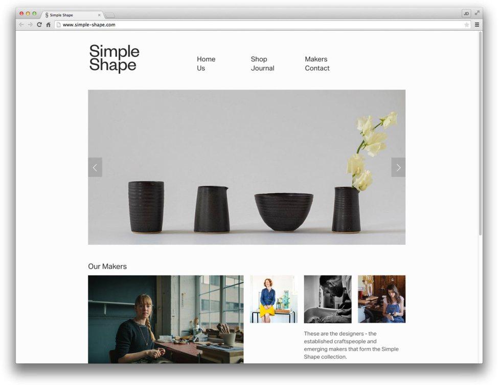 10 Well-Designed Squarespace Commerce Sites - Design Milk