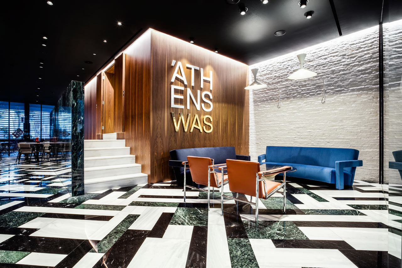 Athens Hotel That s a Nod to Classic Modernism   Design Milk A Hotel in Athens That s a Throwback to Classic Modernism