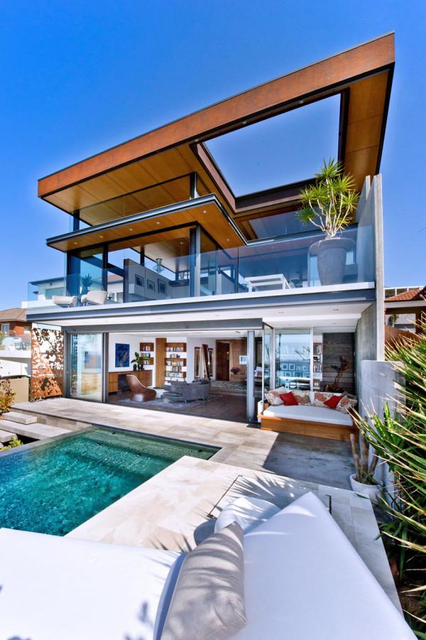 10 Homes Designed for Indoor/Outdoor Living - Design Milk on Designer Outdoor Living  id=55042