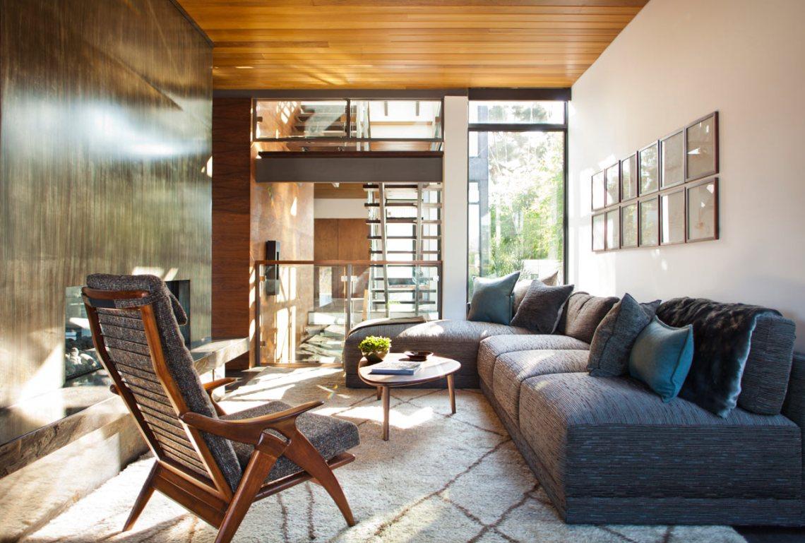 House with a Mid-Century Modern & Italian Feel - Design Milk