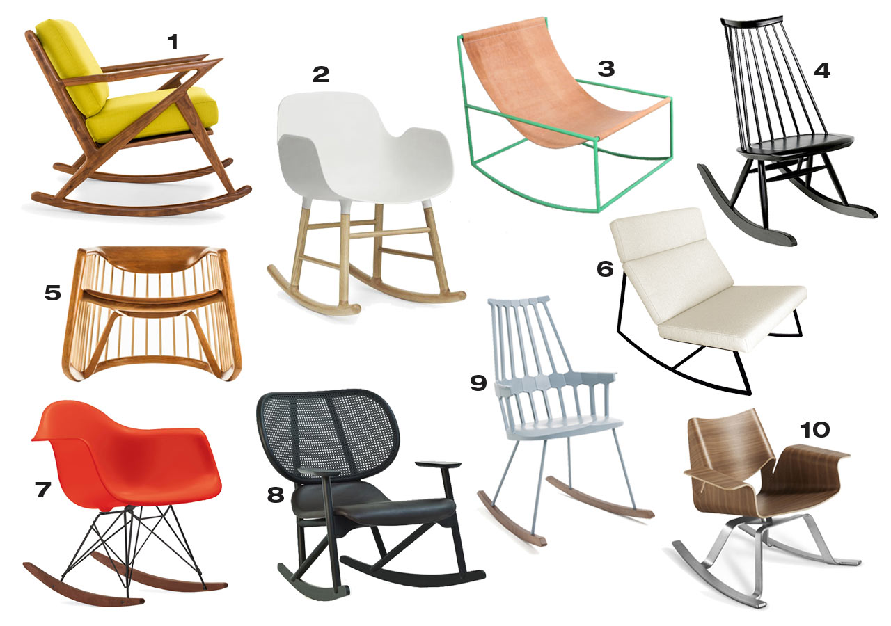 10 Modern Rocking Chairs That Could Work In Any Room