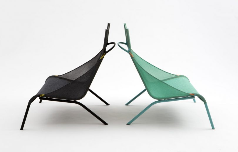 The 3D-Knitted Tent Chair by LAYER for Moroso