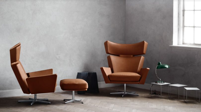 Republic of Fritz Hansen Brings the Oksen Chair by Arne Jacobsen Back to Life [VIDEO]