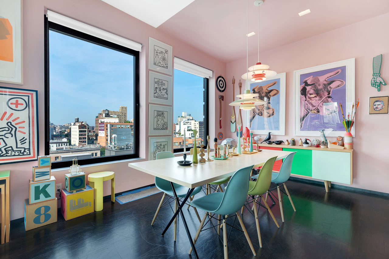 10 Modern Rooms With Vibrant Pops Of Color Design Milk