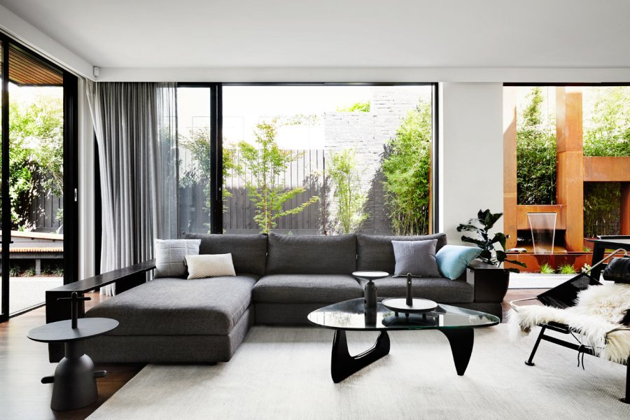 A Contemporary  Monochromatic Home in Melbourne by Sisalla Interior     A Contemporary  Monochromatic Home in Melbourne by Sisalla Interior Design