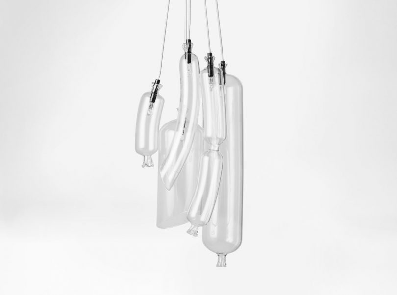 SO-SAGE: A WTF Collection of Glass Lighting That Resembles Sausages