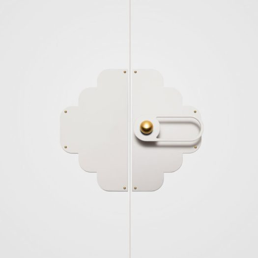 cloud door plate