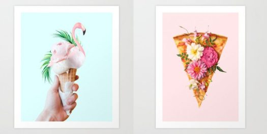 Tasty Food-Related Art Prints from Society6