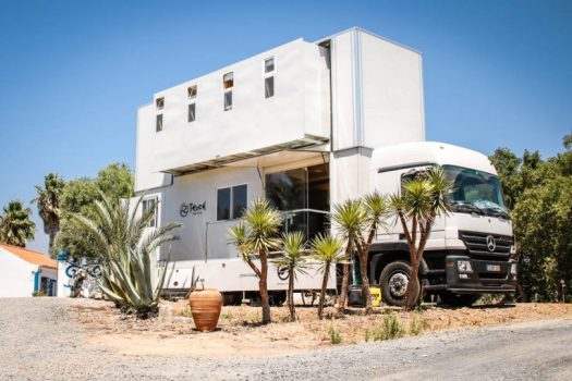 The Truck Surf Hotel Is a 2-Story Hotel on 6-Wheels
