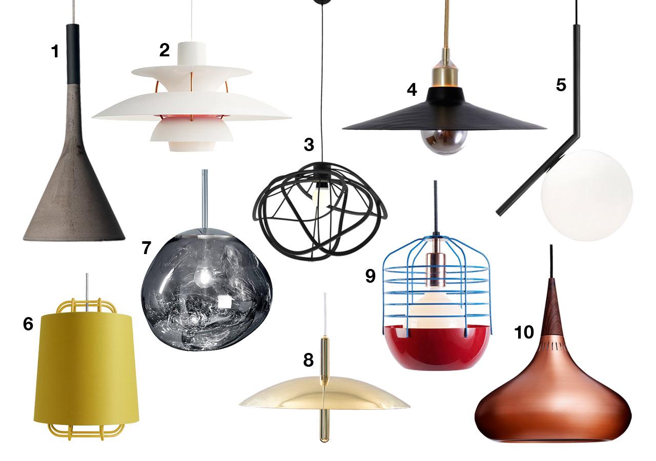 light it up 10 modern pendant lamps
