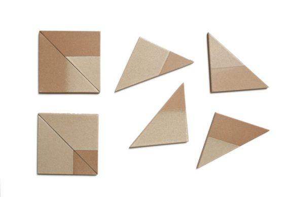 Heath Ceramics Unveils the Dual Glaze Triangles Collection