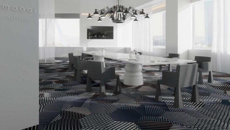 Moooi Carpets Tiles Bring Fresh Versatility To Flooring
