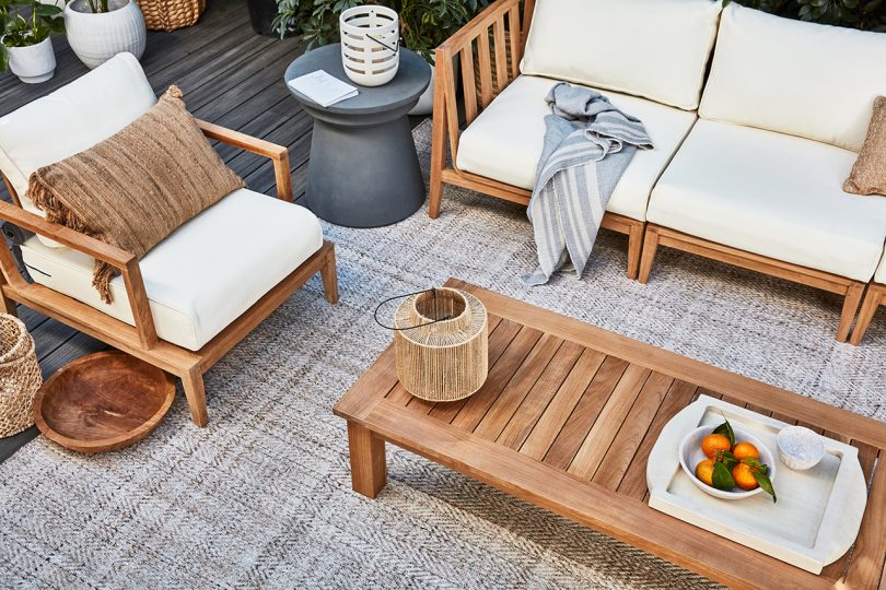 outdoor sofa, outdoor chair, outdoor coffee table