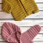Crochet Baby Hoodie Design Peak