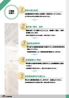 賃貸保証会社様 営業ツールリーフレット 4枚組-3-表面 A4サイズ