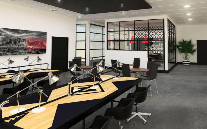 Bullpen Corporate Workspace Design