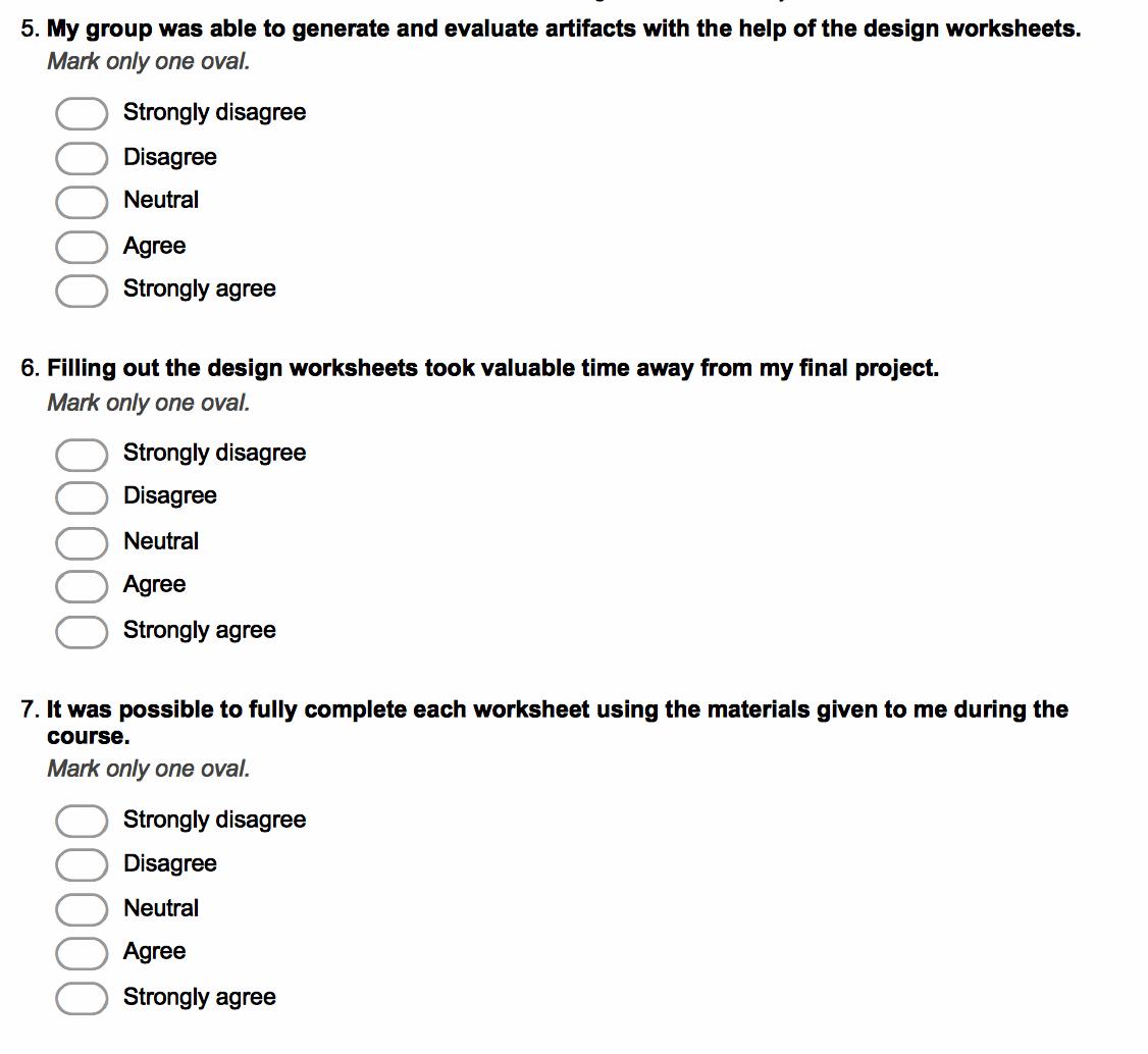 Visualization Design Worksheets