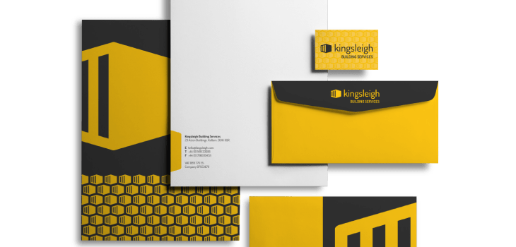 Kingsleigh Building Services - Aardwolf Graphic Design - Logo design and stationery
