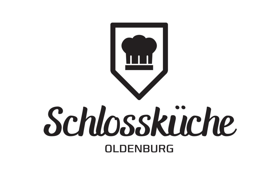 Schlossküche Logo (White) - Aardwolf Design