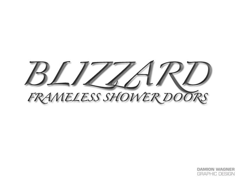 Blizzard Frameless Shower Doors
