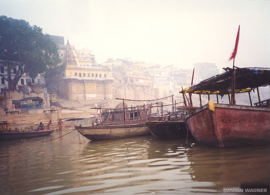 Boats In The Ghats India
