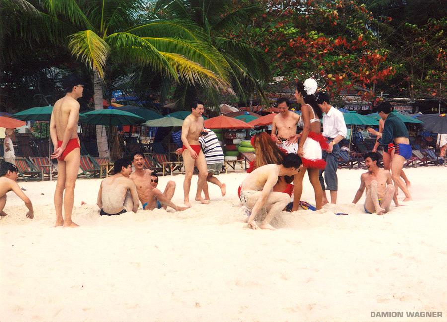 Ladyboys Tourists Thailand