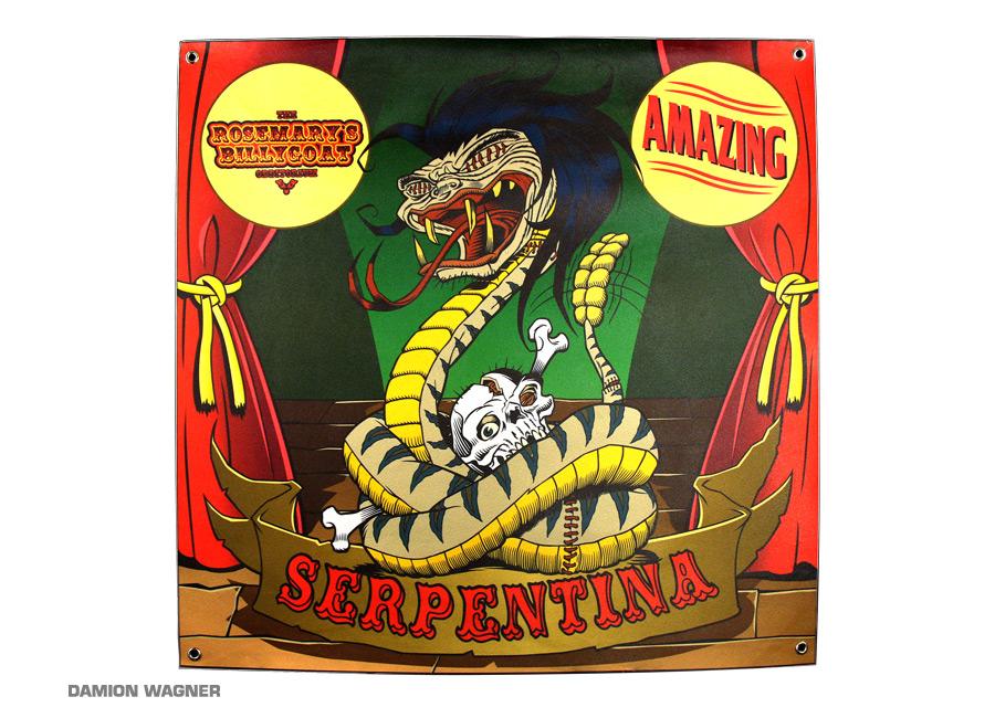 Odditorium Circus Banner
