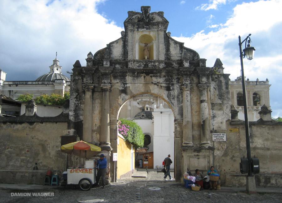 Parqueo Del Santuario (The Sanctuary Parking), Antigua Guatemala