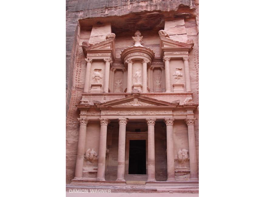 The Petra Treasury Jordan