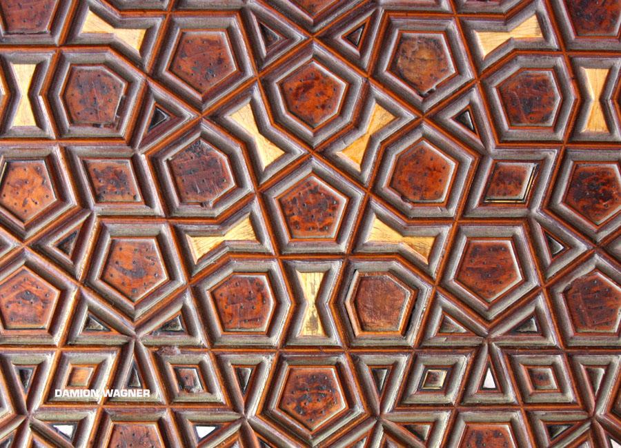 Wooden Mosque Door