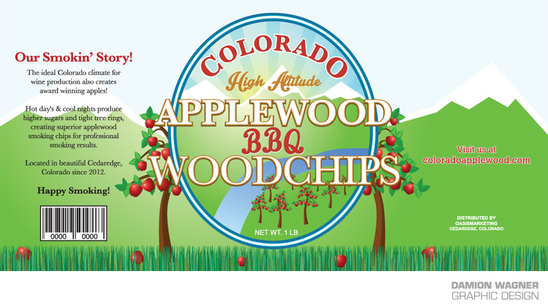 Colorado Applewood BBQ Chips