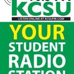 Signage: KCSU Promotional Sign