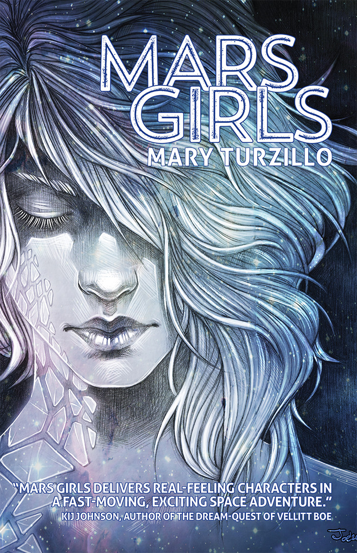 Mars Girls Front Cover