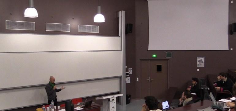 Sébastien Thiery « Ailleurs commence ici », programme politique du PEROU