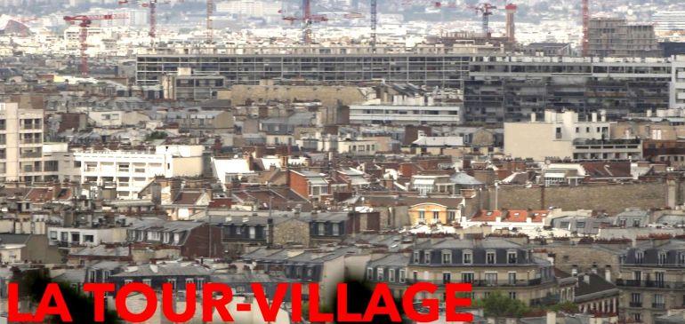 MERYEM DE LAGARDE. Rencontre autour du film documentaire : La Tour Village