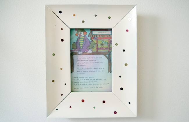 The picture book in a frame