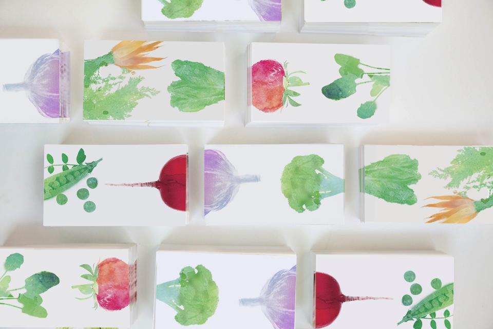 veggie cards side