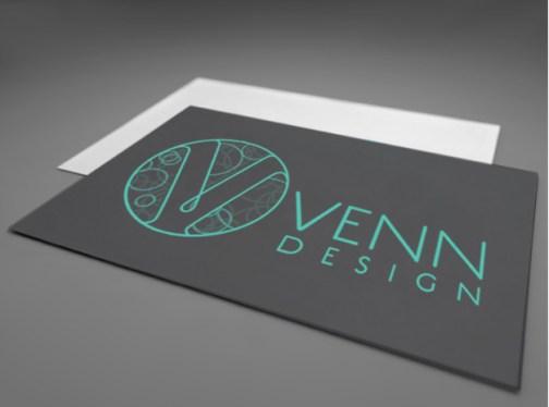 Venn biz card