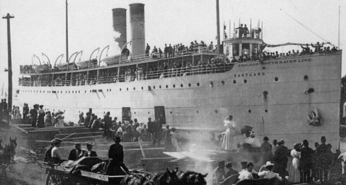 The S.S. Eastland. All photos courtesy of Eastland Disaster Historical Society.