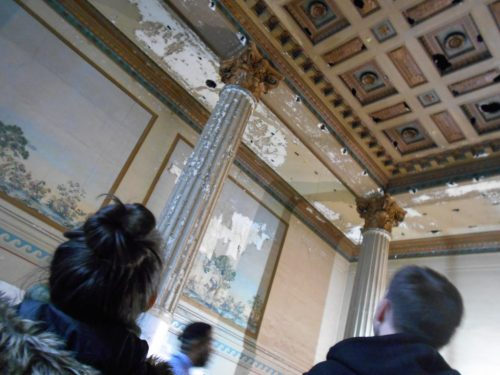 The former Women's Waiting Room will be restored as a large meeting room in Union Station.