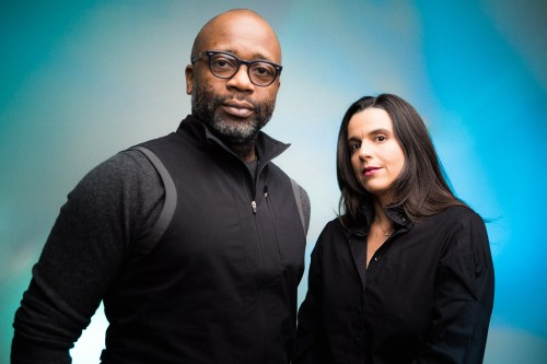 Theaster Gates and Renata Graw/ Photo: Joe Mazza/Brave Lux